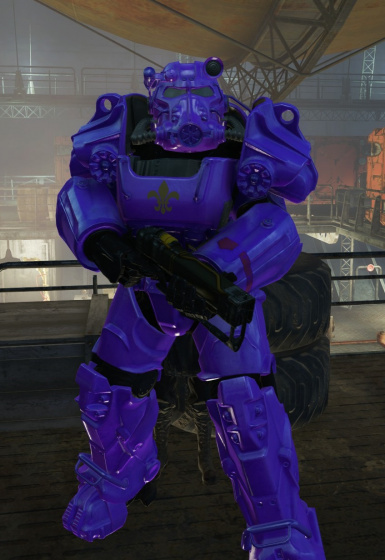 Saints Row Purple Power Armor