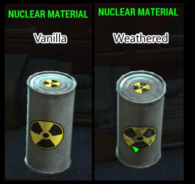 Weathered Nuclear Material