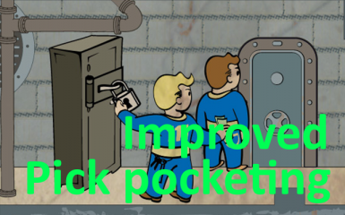 Improved Pick pocketing