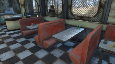 No Diner Bench Upholstery Rips