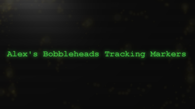 Alex's Bobbleheads Tracking Markers