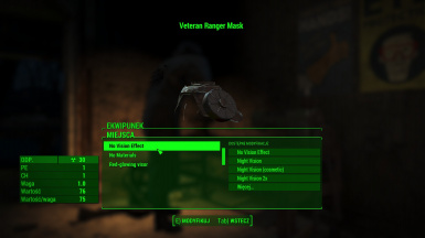 WestTek Optics option after mod quest