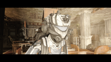 Titanfall White Helmet Tweak