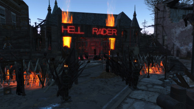 Hell Raider Biker Bar
