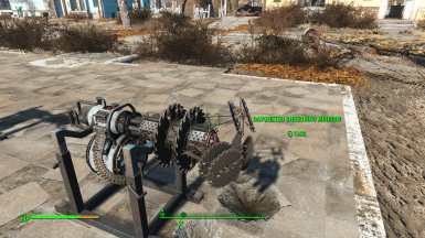 13 new MiniGun Shredders Inc BuzzSaws
