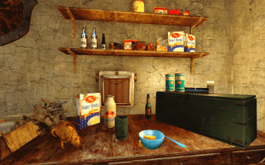 Realistic Food - Health and Magic Effects Removed