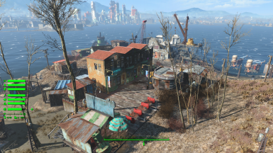 (PCSM) Sim Settlements City Plans - Spectacle Island Training and Supply Centre by Yagisan and VikingBaggins