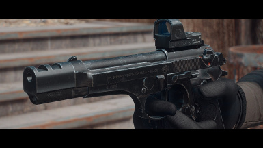 Modern Weapon Replacer - Beretta M9-FS at Fallout 4 Nexus - Mods and