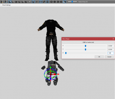 Jury-Rigged Fix to BodySlide and Outfit Studio to Alignment Issues and Unweighted Shapes Error
