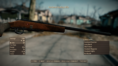 Unique Hunting Rifle Short