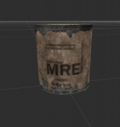 Canned MRE Texture