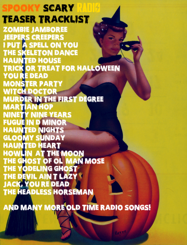 Preview Spooky tracklist