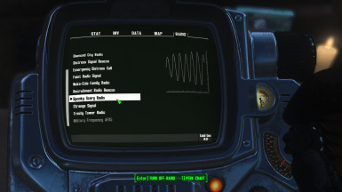 Spooky Scary Radio in the Pip Boy