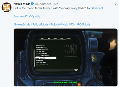 Spooky Scary Radio at Fallout 4 Nexus - Mods and community