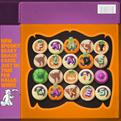 New Remade Halloween Fancy Lad Cakes for 1.2