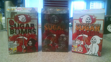 REAL LIFE Spooky Scary Sugar Bombs! by RiftCreator