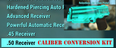 Caliber Conversion Kit - Ammo Mod Expansion at Fallout 4
