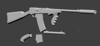 Combat rifle to remington m8 police replacer