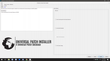 Optional patch groups containing patches