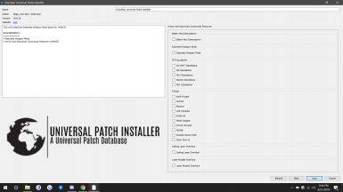 AWKCR patch selection