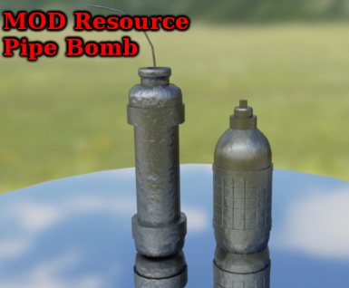 MOD Resource Pipe Bomb