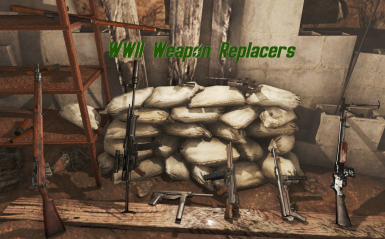 WW2 Weapon Replacers - M1 Garand