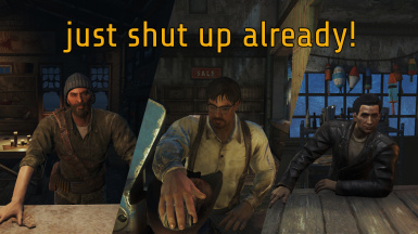 just shut up already - DLC Far Harbor traders -