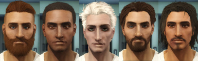 Some Male Face Presets