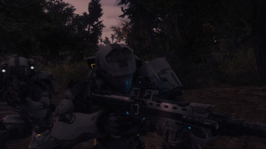 Silent Ghost ODST's