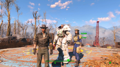 Father Companion - Alternate Ending Option For Fallout 4 at