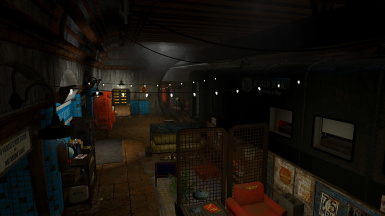 The Subway Safehouse Player Home
