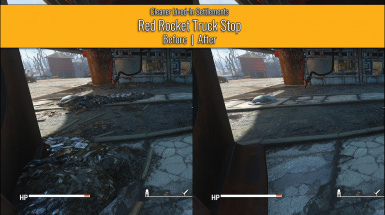 Red Rocket Truck Stop - Before / After