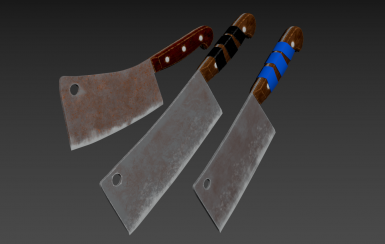 Cleaver Melee Weapon