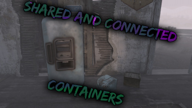 Shared and connected containers