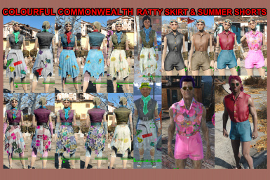 Colourful Commonwealth - Casual Wear