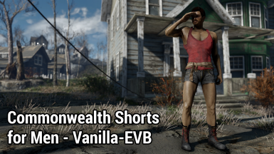 Commonwealth Shorts for Men - Vanilla-EVB