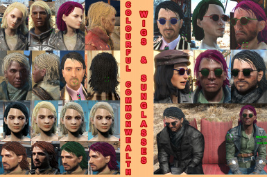 Colourful Commonwealth - Sunglasses and Wigs