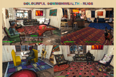 Colourful Commonwealth - Vibrant Rugs