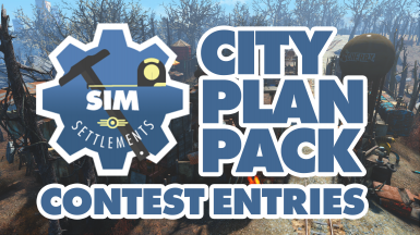 Sim Settlements - City Plan Pack - Contest Entries
