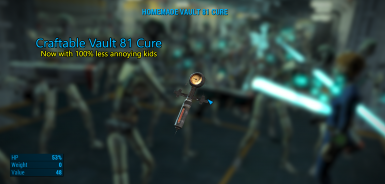 Craftable Vault 81 Cure