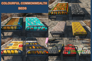 Colourful Commonwealth - Beds and Sleeping Bags