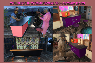 Colourful Commonwealth - Atomic Bars
