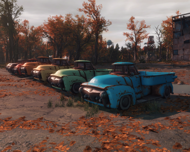 Drivable Vanilla Cars