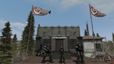 Example of BoS Outpost in Oberland station