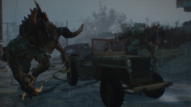 a Jeep in Commonwealth