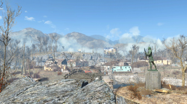 Vault 111 And Billboard Distant Visibility