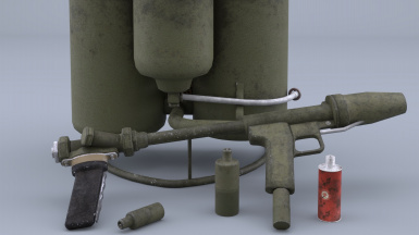 M2A1-9 Flamethrower