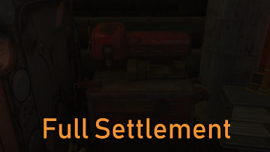 Mechanist's Lair Full Settlement - ESL SUPPORTED