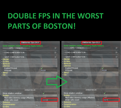 Double FPS in Boston