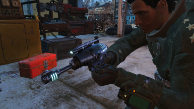 Fallout 3 Alien Blaster Replacer and Stand Alone